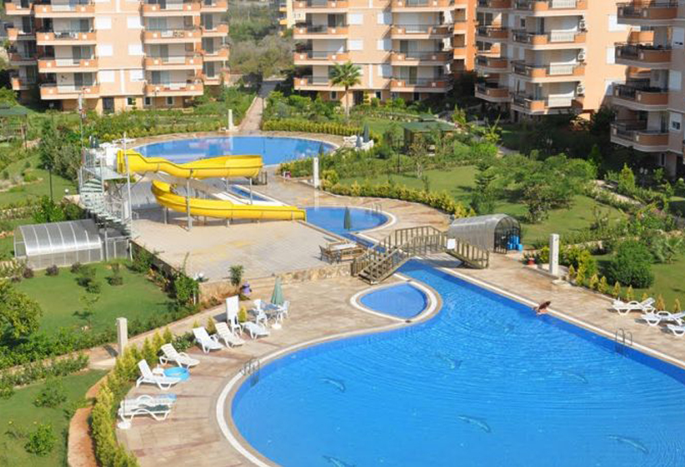 Апартаменты в курортной зоне Алании
