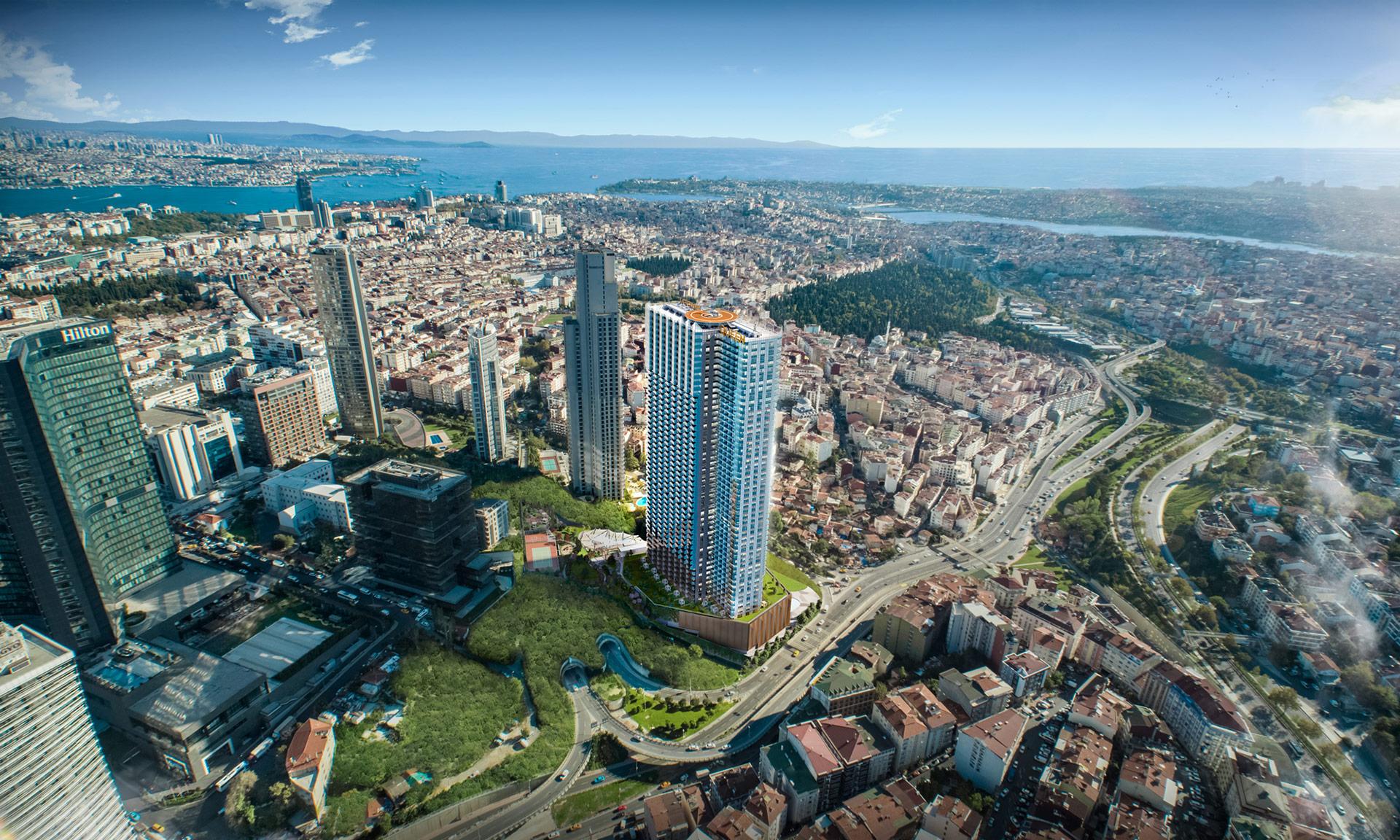 Апартаменты премиум класса в Стамбуле