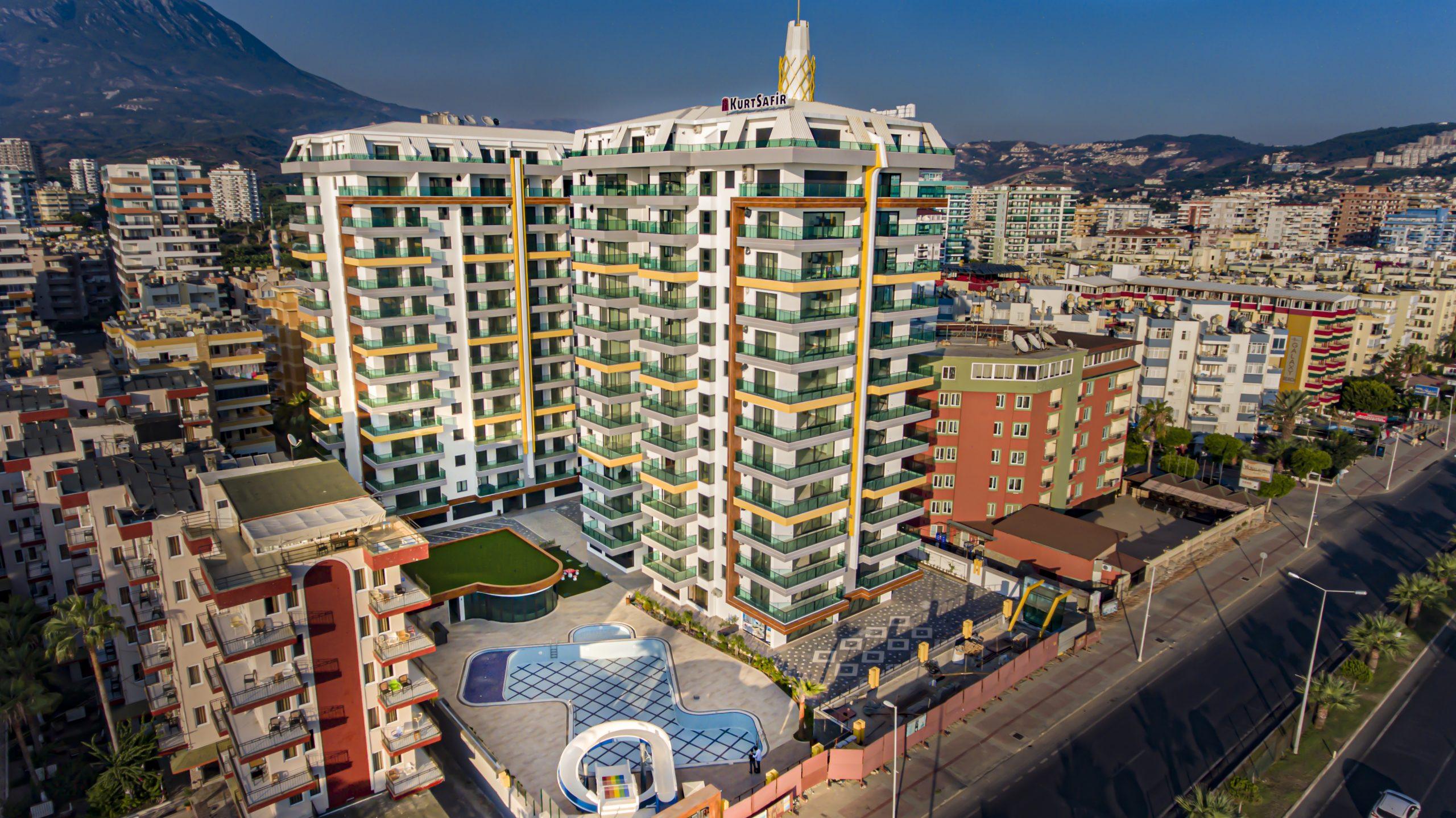 Апартаменты на берегу Средиземного моря в Алании